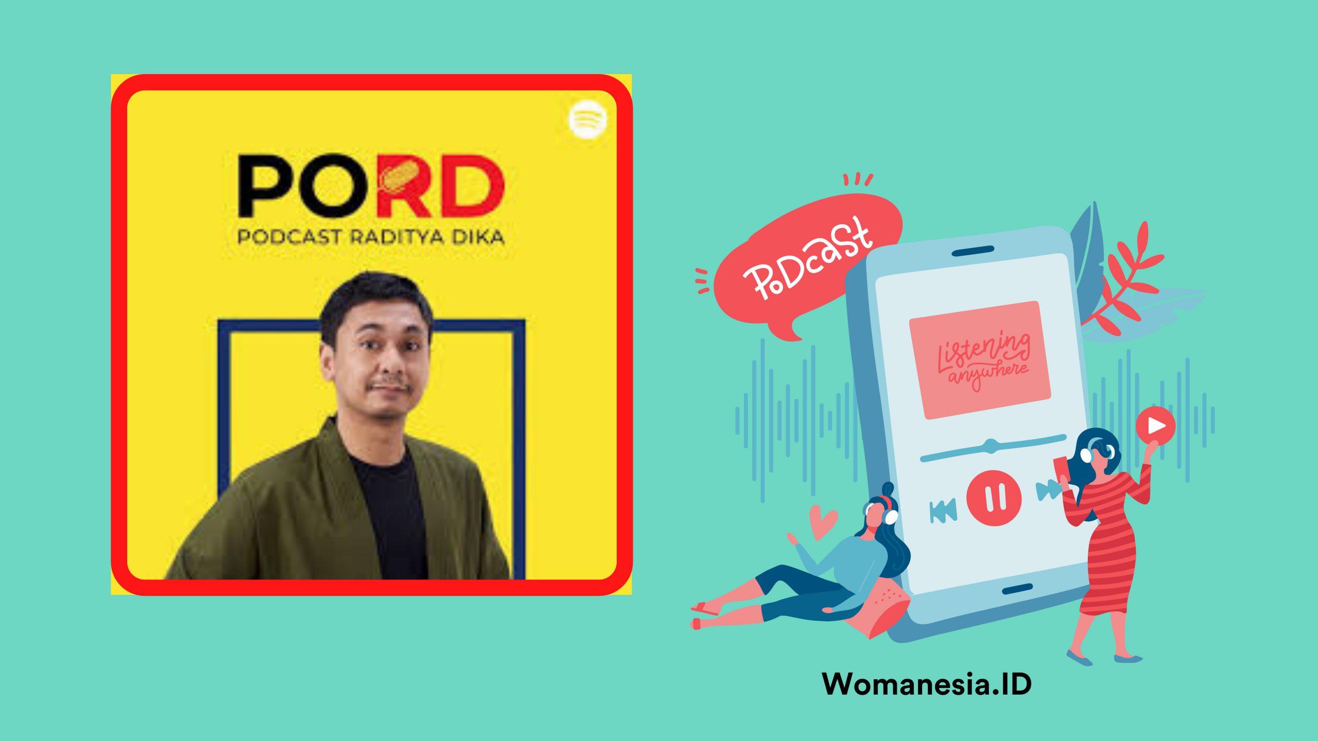 Podcast selebriti indonesia